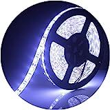 ALITOVE LEDテープライト LEDテープ型 防水 5050両面テープ12V 5 m 300連ストリップライトSMD5050ホワイトIP65ホワイトベース 正面発光 LEDイルミネーション 切断可能