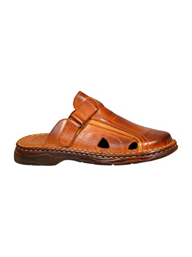 Mens Orthopedic Form Buffalo Leather Sandals Model-803/1