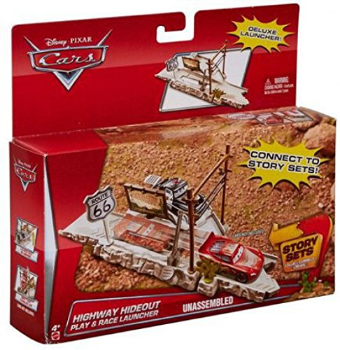 Disney/Pixar Cars Route 66 Speed Trap Launcher (Trap Maters)