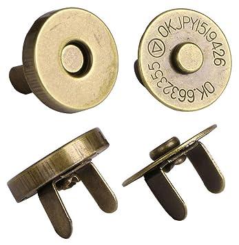 Mini Skater 24 unidades 14 mm tono magnético Monedero ...