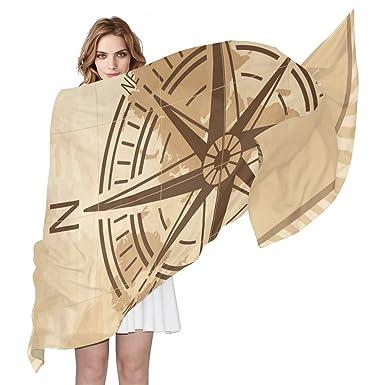 COOSUN Feuilles de palmier Motif Foulard en soie légère longue écharpe pour  les femmes Enveloppe de ac0eba6744b