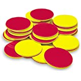 Learning Resources Two-Color Counters, Red/Yellow, Educational Counting, Sorting, Patterning, and Probability Activities…