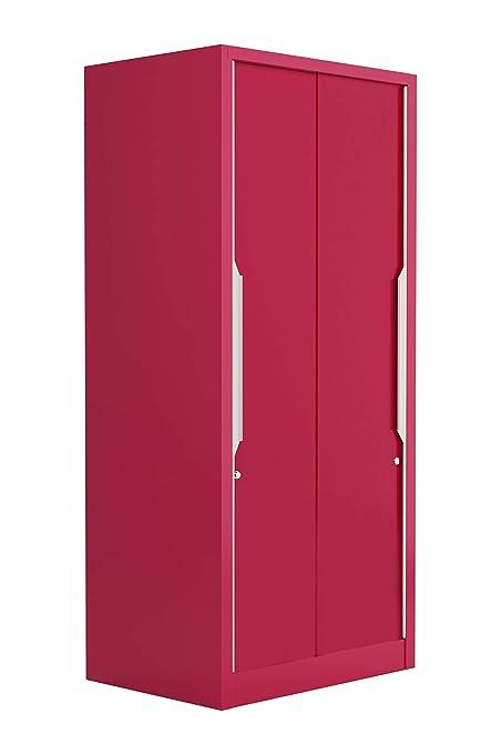 2d311223fb5 Godrej Interio Slide N Store Compact Plus 2-Door Wardrobe (Matte Finish