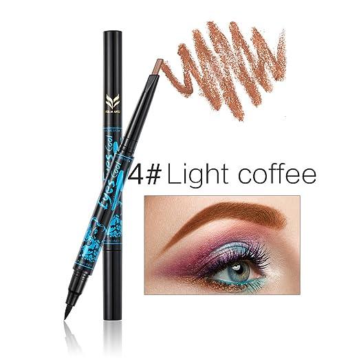 Amazon.com : CCbeauty 2-in-1 Eyebrow Pencil Waterproof with Black ...