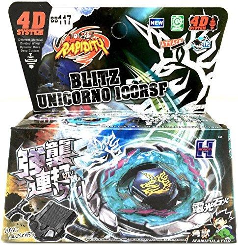 Blitz Unicorno / Striker 100RSF Metal Fury Masters 4D Bey...