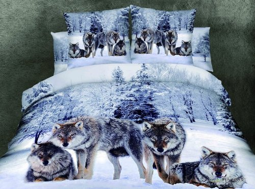 Wolf Duvet Cover and Sheets Set