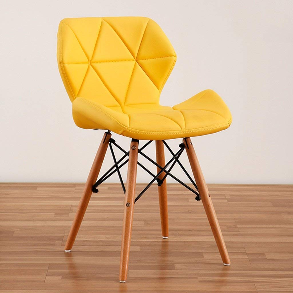#11 Emes faux leathered stylish chairs