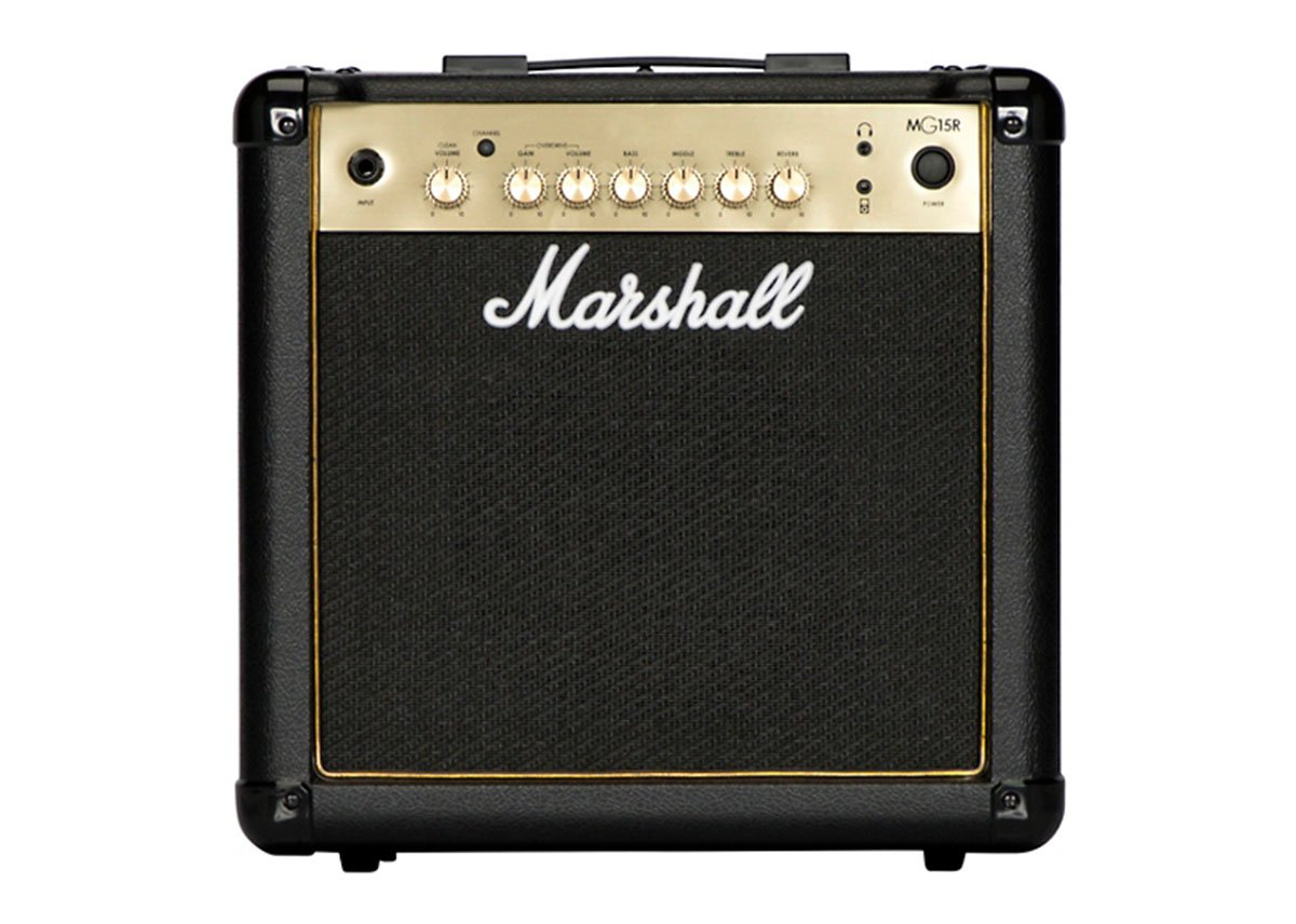 Marshall MG15GR 15-Watt 1x8 Inches Combo Amp with Reverb by Marshall