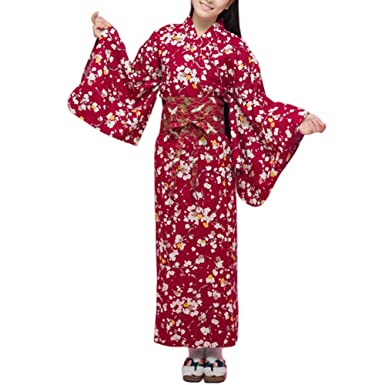 Fancy Pumpkin Albornoz del Traje del Kimono de Las Mujeres ...