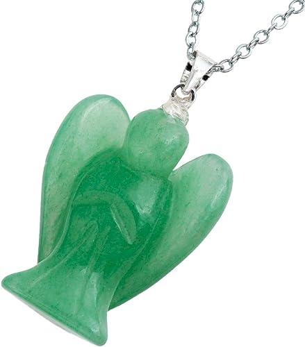 Hamdmade Natural Green Aventurine carved rose flower pendant fashion girl gift