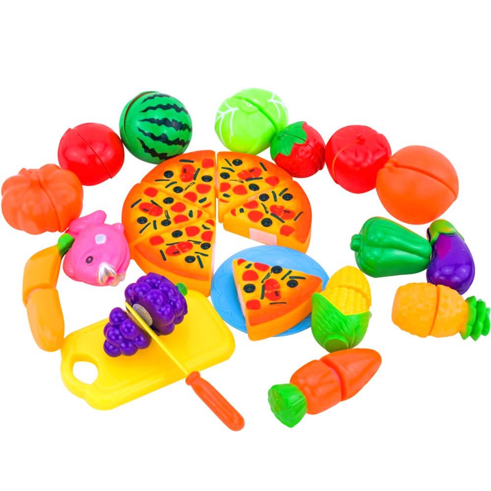 desarrollo de habilidades b/ásicas educativas en edades tempranas dise/ño de velcro juego de comida verduras 24 piezas cortando frutas Local Makes A Comeback -Juguetes cognitivos para ni/ños