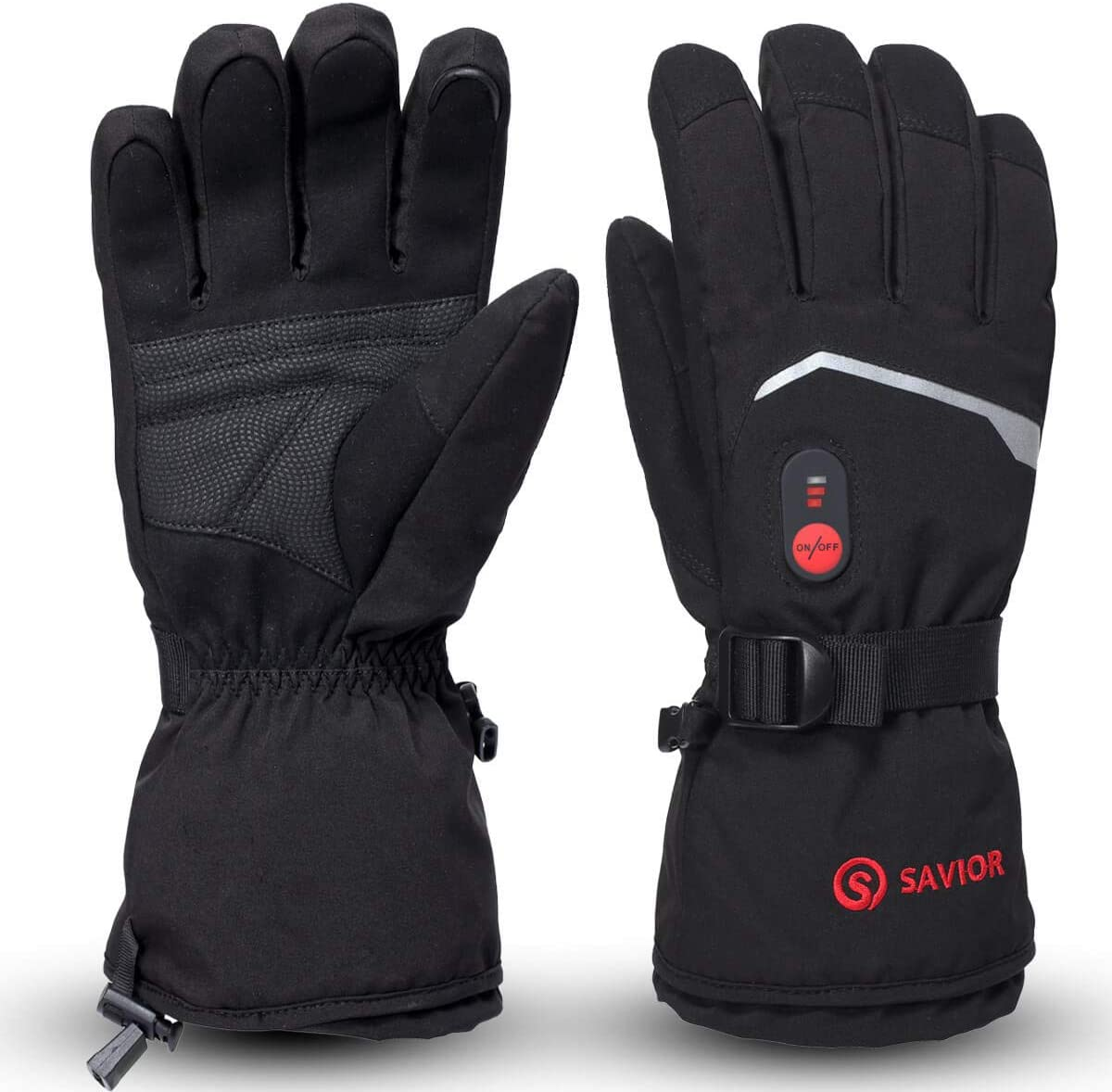 Savior Heat: Heated Motorcycle Gloves