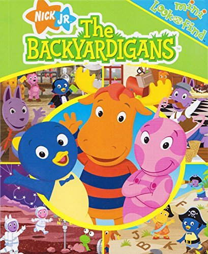 The Backyardigans Toy - The Backyardigans Mini Look and Find 4 ct