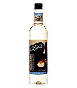 DaVinci Gourmet Coffee Syrup, Sugar-Free Hazelnut, 25.4 Ounce Bottle (Pack of 4)