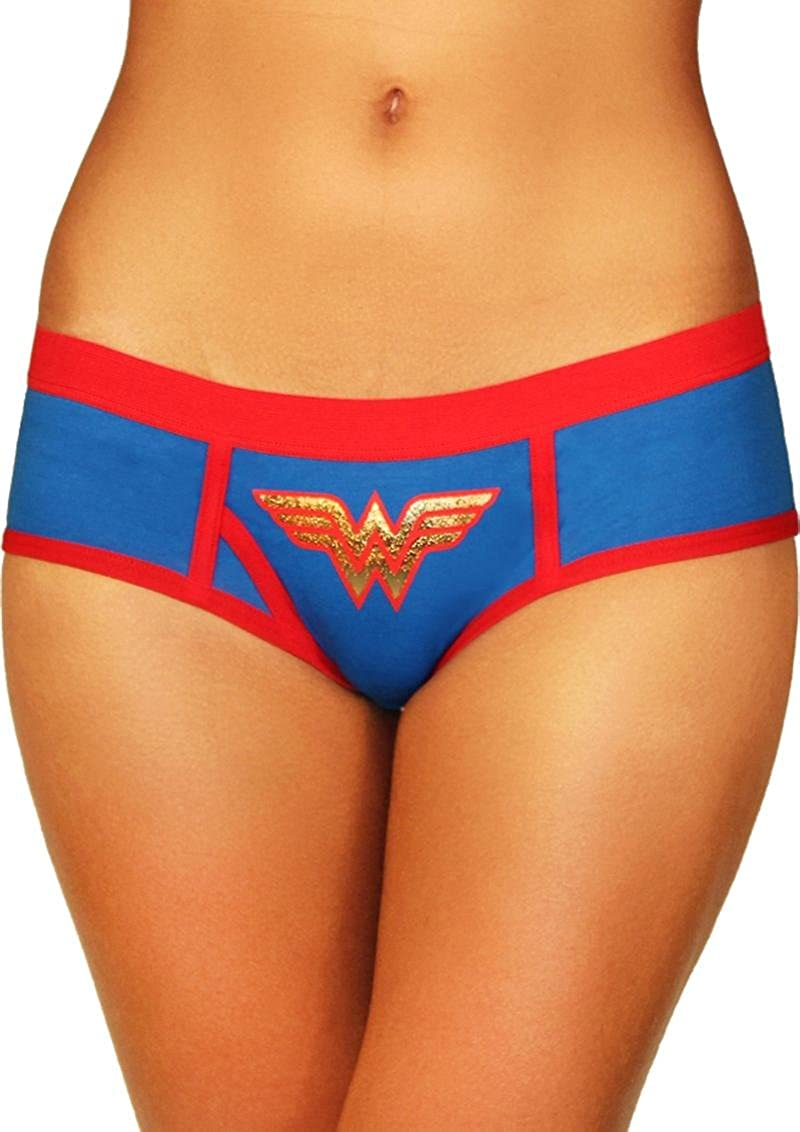 Superhero Licensed Goods Wonder Woman Boyshort with Foil Logo XGEN Products