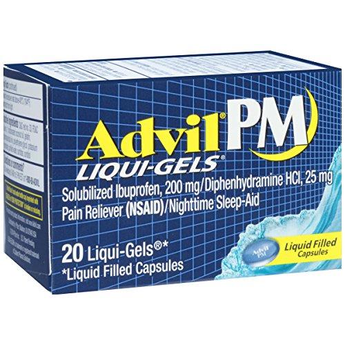 Advil PM Liquid Gels 20
