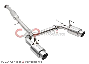 Top Speed Pro 1 N1 Y Pipe Back Exhaust Nissan 350Z 03 08