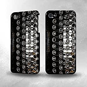 Apple iPhone 4 / 4S Case - The Best 3D Full Wrap iPhone Case - Typewriter