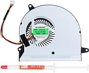 Li-SUN CPU Cooling Fan, Replacement Cooler for Asus U56E Series Laptop with Thermal Grease (Part Number: BDB05405HHB BFB0705HA)