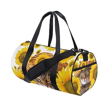Amazon.com: Bolsas de gimnasio deportivas con girasoles para ...