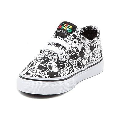 af66b510e000 Vans Toddler Authentic (Nintendo) Skate Shoe Multi Size  9 Infant Toddler