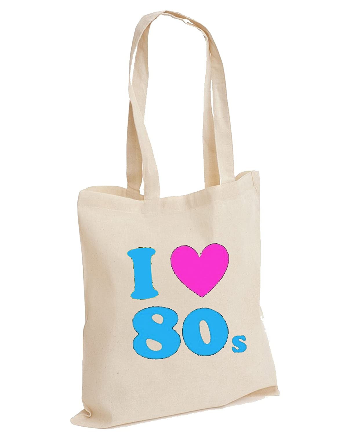 I Loveheart the 80s Cotton Tote Bag