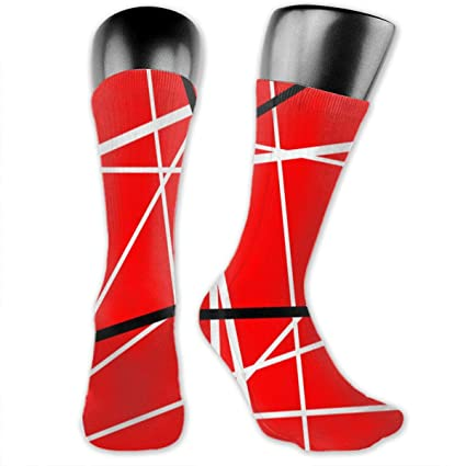 online for sale fashion catch Amazon.com: MFMAKER Red with Black White Stripes Color Print ...