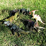 6pcs Large Assorted Dinosaurs Toy Action Figure Model