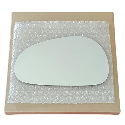 Mirror Glass and Adhesive 94-04 Ford Mustang Driver Left Side Replacement