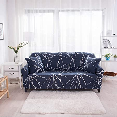 1//2//3//4 Sofa Covers Couch Slipcover Stretch Elastic Settee Protector Waterproof