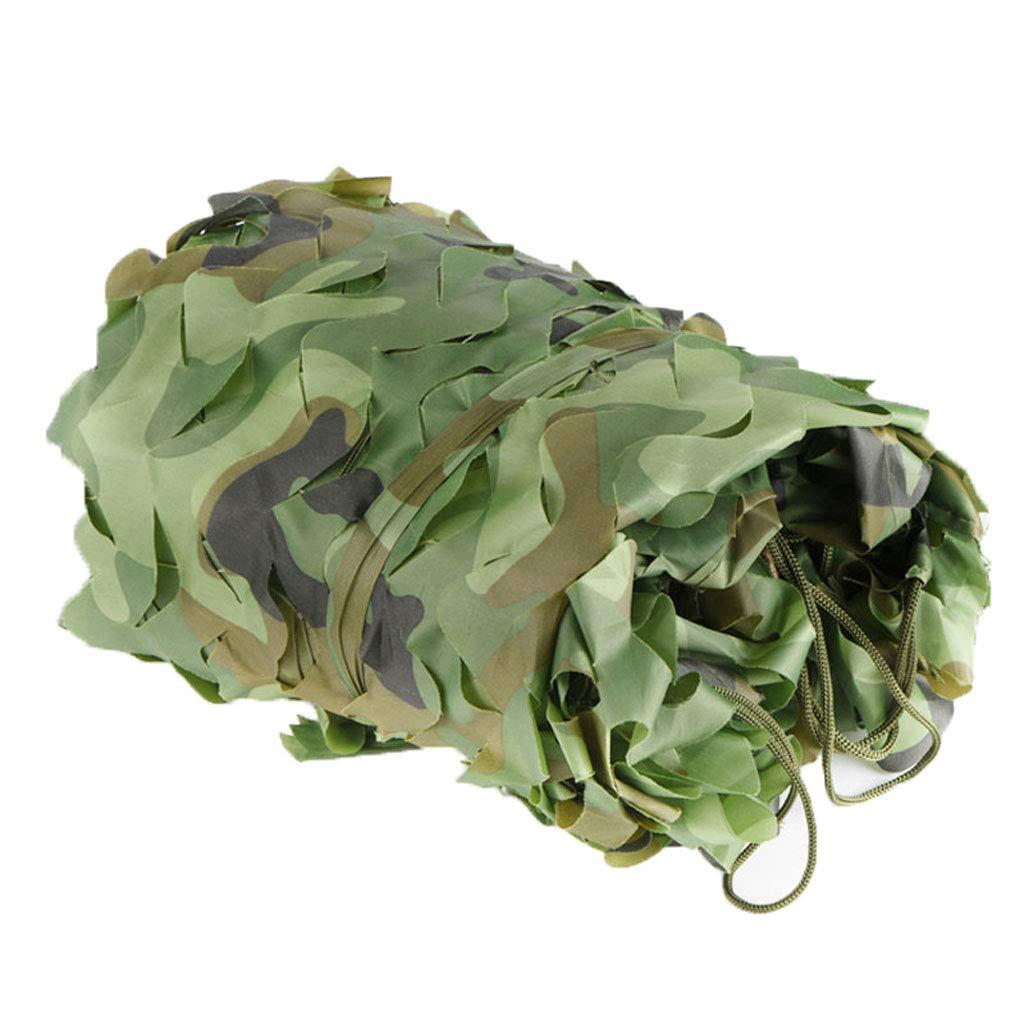Filet de camouflage Filet pare-soleil Filet de camouflage En plein air filet de camouflage Convient pour le camping caché forêt chasse piscine camouflage tente parasol photographie partie jeu Hallowee  68m