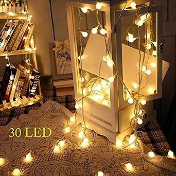 Kleine Lichterkette 3meter 30 Led Globe Lichterkette 3aa