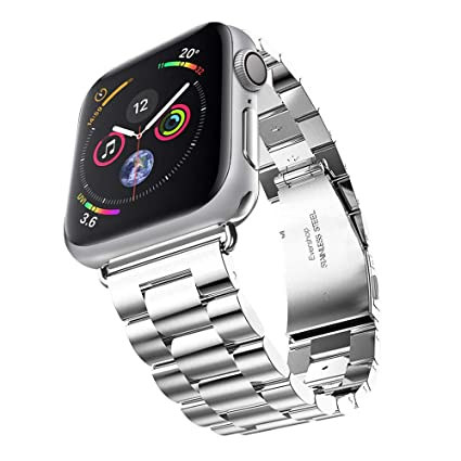 Clever Elegantes Armband Für Apple Watch 38mm Edelstahlarmband Gliederarmband Rosègold Handys & Kommunikation