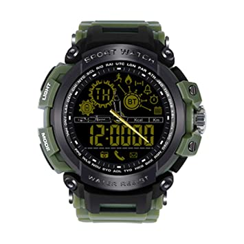 Reloj Deportivo Digital para Hombre Relojes Militares y cronómetro Luminoso Impermeable Impermeable Reloj Simple Deportivo (