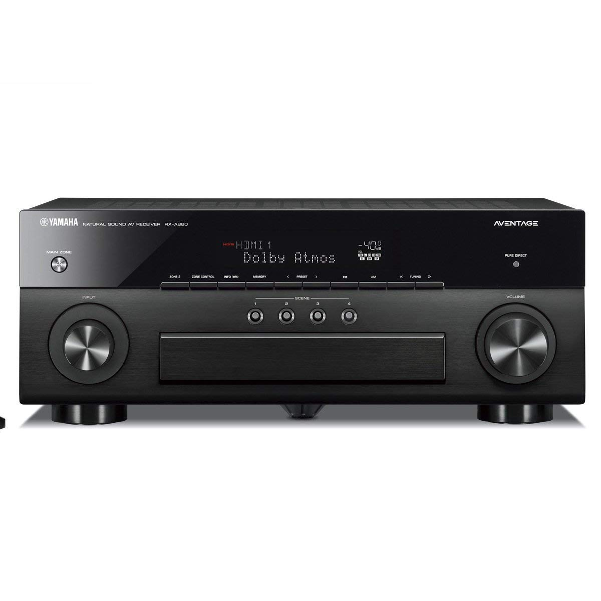 Yamaha RX-A880 Premium Audio & Video Component Receiver - Black (Renewed)