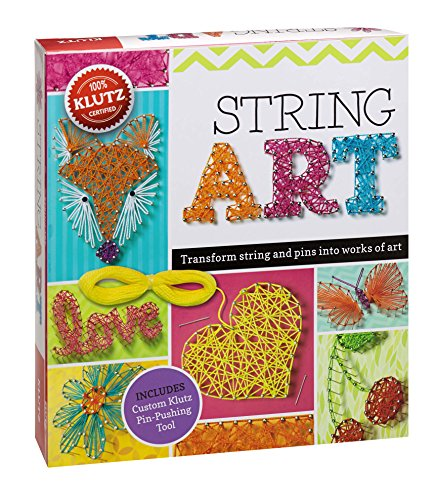Klutz String Art Book Kit - Make Pins and More!