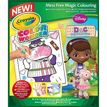 Amazon.com: Crayola Color Wonder Drawing Paper-30 Sheets: Toys & Games