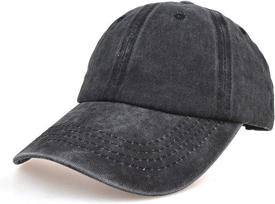 OJSCOS Kids Plain Baseball Cap Sunhat Low Profile Hat 100/% Cotton
