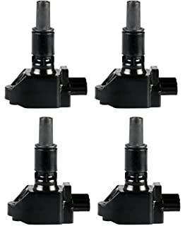 Pack of 4 Ignition Coils for Mazda RX-8 R2 1.3L Compatible with C1459
