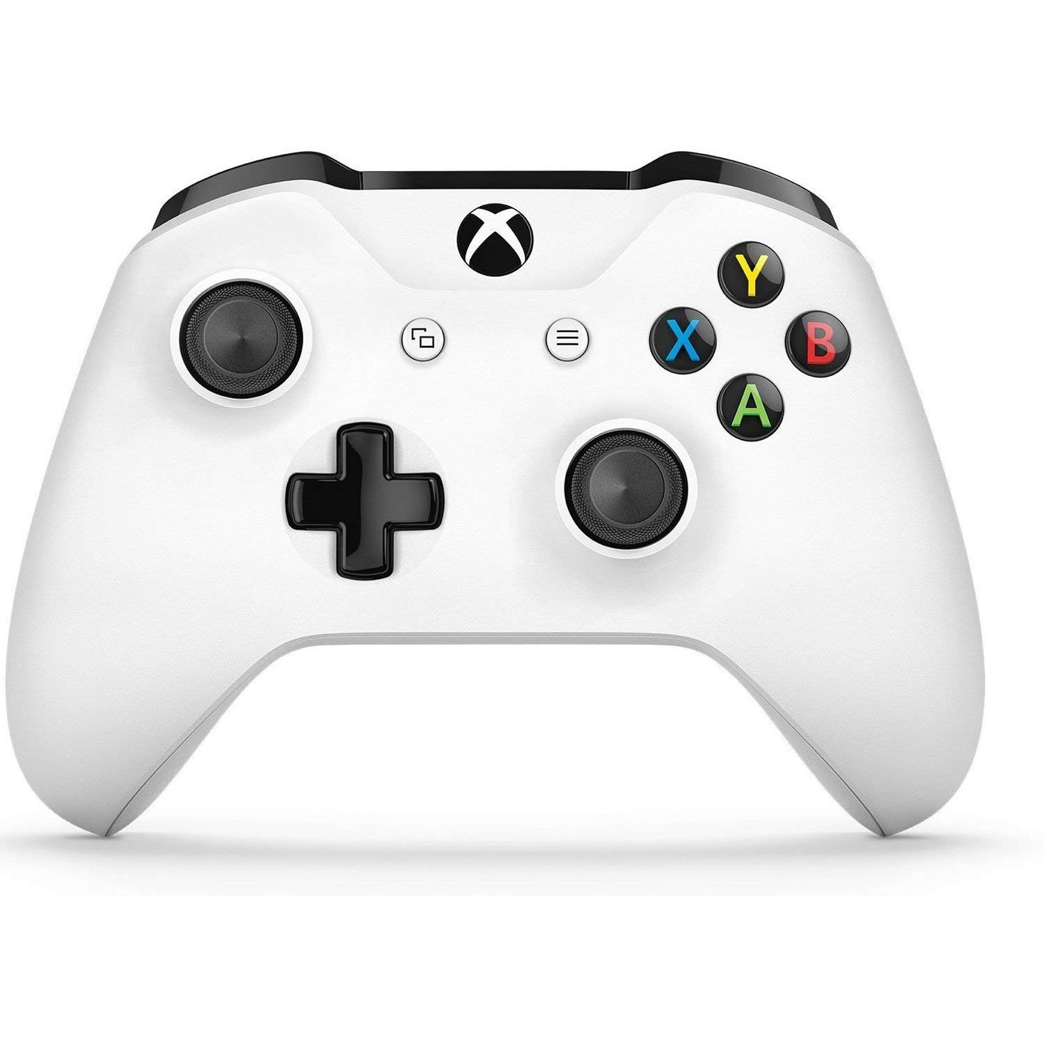 Microsoft Xbox One Wireless Video Gaming Controller, White (Renewed): Computers & Accessories