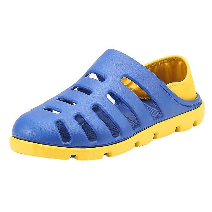 Darringls_Zapatos de hombre,Casual de los Hombres Antideslizante Impermeable súper Ligero de Gran tamaño Sandalias con Orificios de Playa: Amazon.es: Ropa y ...