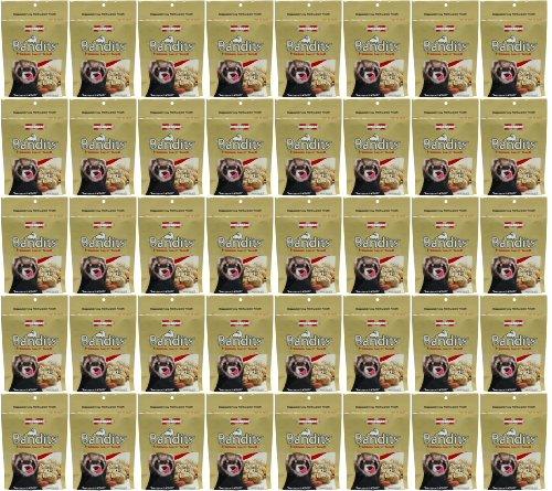 Marshall Bandits Ferret Treat Peanut Butter 7.5lbs (40 x 3oz)