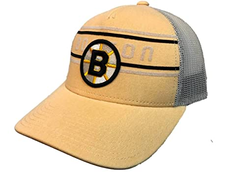 Amazon.com   adidas Boston Bruins Pastel Yellow CCM Vintage Mesh ... 5ee98c33077