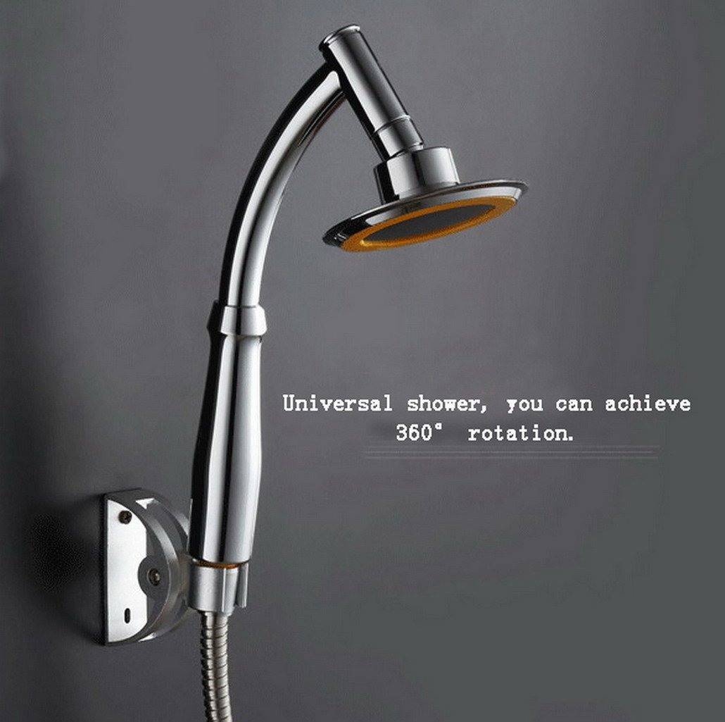 Multi-function 360 Degree Rotating Showerhead Pressurized Hand Shower Bathroom Accessories 4 INCHES