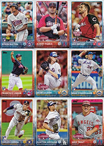 2015 Topps Traded Baseball Updates and Highlights Series 400 Card Set Complete M (Mint)