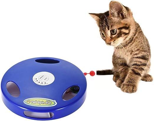 Juguete para gatos de todas las edades, ratón electrónico. Proporciona ejercicio y diversión, su gato no podrá resistirse: Amazon.es: Productos para mascotas