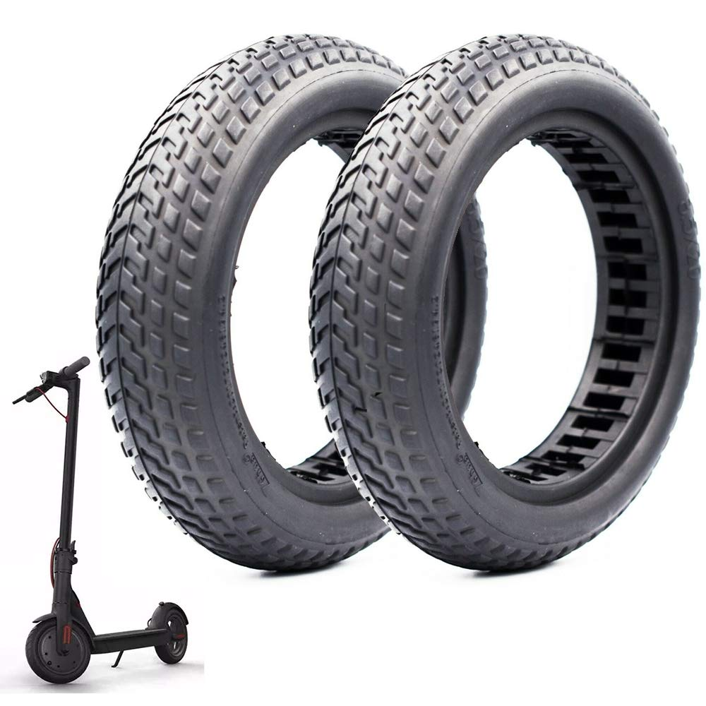 Scooter Honeycomb Solid Tyre (Honeycomb Modle C (1 Pair)) by Seway