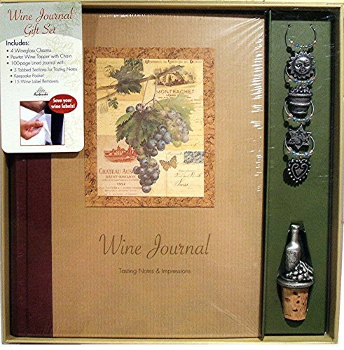 Wine Journal Gift Set by Avalanche Publishing