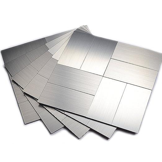 Amazon.com: Backsplash Tiles Kitchen, Wall Tiles For Kitchen Backsplash( 12x12 Inch Per Sheet, Pack Of 5): Home U0026 Kitchen