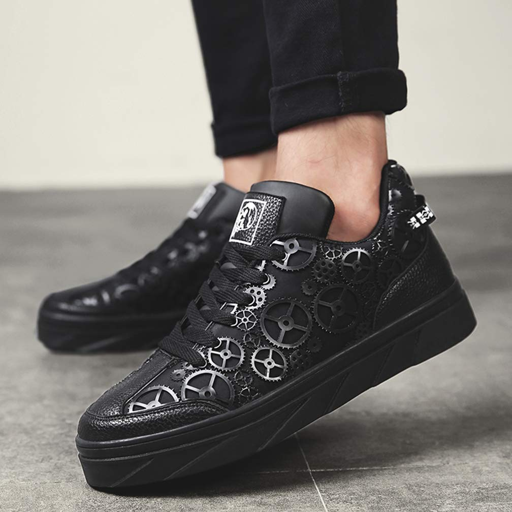 38e56e717a0e9 Amazon.com: Myron Sports Board Shoes Male Student Board Shoes Men's ...